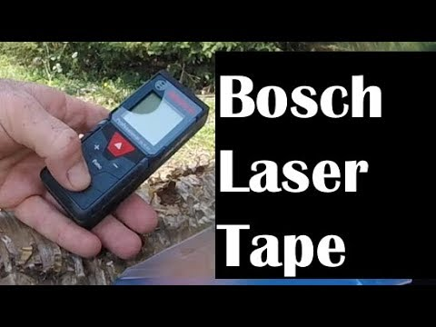 Review and How To Align Wheels with the Bosch Laser Measure Tape