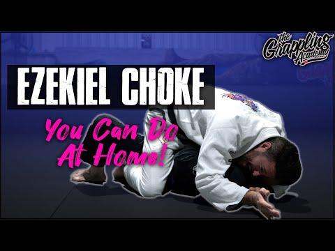 Ezekiel Choke You Can Train At Home!