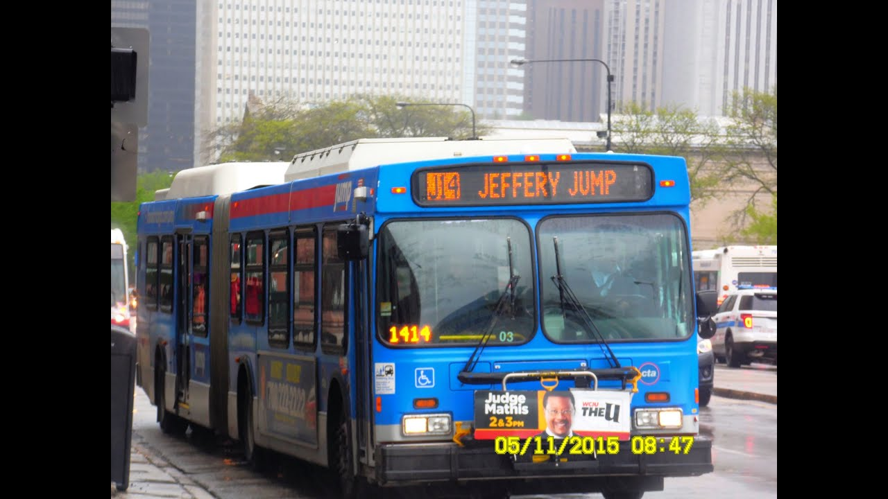Chicago Transit Authority Jeffery JUMP LimitedStops to Ogilvie