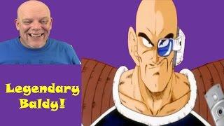 "REACTION TIME | ""DBZ Abridged Best Of Nappa Part 1"" - Legendary Baldy"