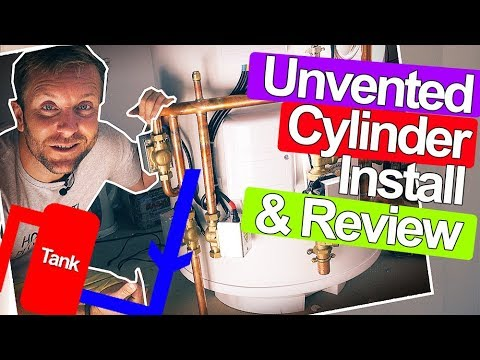 UNVENTED CYLINDERS FOR HOT WATER - Plumbing Tips - YouTube