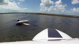 """CKflyer"" Explores A Crashed C46 On Andros Island, Bahamas HD"