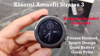 Xiaomi Amazfit Stratos 3 Unboxing & First Impressions