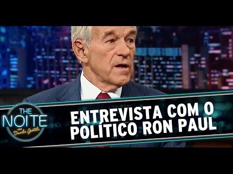 The Noite (09/09/14) - Entrevista com Ron Paul