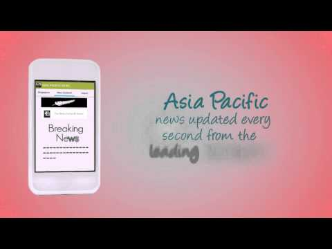 Asia Pacific News App - Promo Video