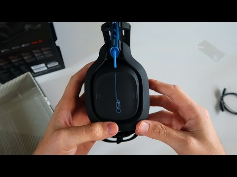 *NEW* Astro A50 Wireless Gaming Headset Unboxing & Review (P