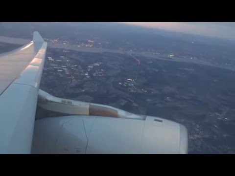 American A330-200 Sunset Departure From Philaldelphia (From Push-Back To 24.000 Feet!)
