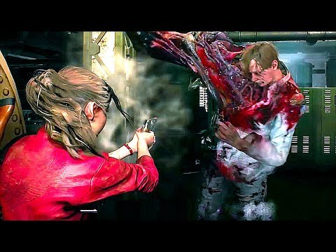 RESIDENT EVIL 2 REMAKE - Claire Redfield Gameplay (Gamescom 2018)
