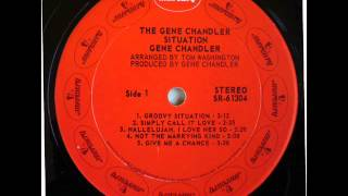 Watch Gene Chandler Groovy Situation video