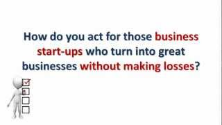 Accountants: Make money out of business start-ups