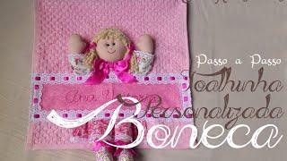 PAP Toalhinha Personalizada Boneca