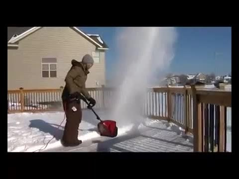 Electric Snowblowers Electric Shovels From Toro Youtube