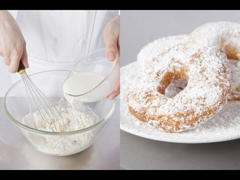 Technique de cuisine : préparer des beignets