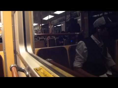 Stockholm Subway C14 Ride Liljeholmen Norsborg