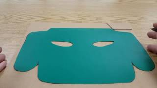 Inca Inspired Masks: Cardboard Version, Part 1