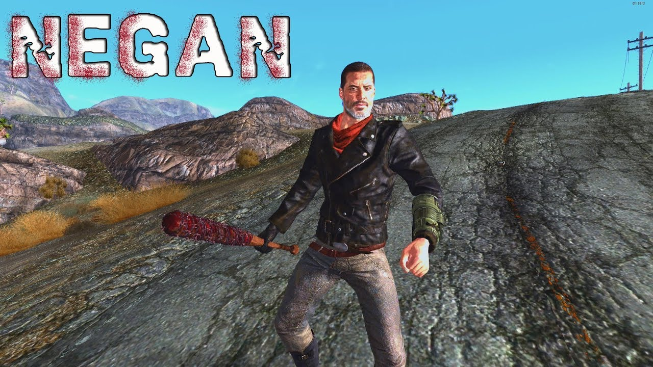 The Walking Dead's' Negan Invades 'Fallout: New Vegas' In