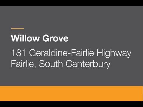 Sold | 181 Geraldine-Fairlie Highway, Fairlie, South Canterbury