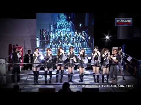 Kamen Rider Girls Concerts in Thailand Comic Con 2014