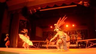 Cultural Shows At Sarawak Cultural Village: ngajat Pahlawan  Iban Warrior Danc