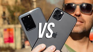 Samsung Galaxy S20 Ultra vs iPhone 11 Pro Max: IL CONFRONTO