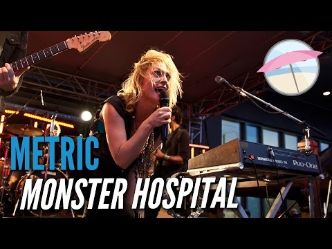 Metric - Monster Hospital (Live at the Edge)