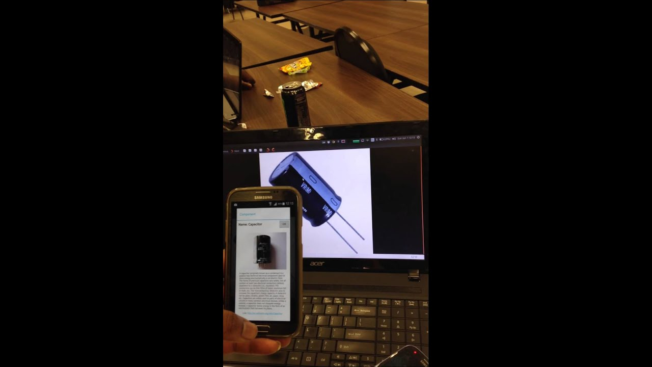 gk electronics augmented reality app that helps you identify rh youtube com Electronic Component Parts Identifying Components