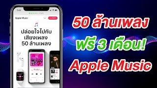 Apple Music EP.1 สมัครใช้ฟรี 3 เดือน เพลินกับทุกเพลงโปรด บน iPhone ง่ายนิดเดียว | สอนใช้ง่ายนิดเดียว