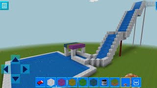 RealmCraft with Skins Export to Minecraft Gameplay #81 (iOS & Android) | Water Slide