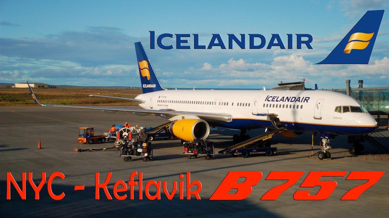 Trip report icelandair boeing new york jfk to keflavik  hd also rh youtube