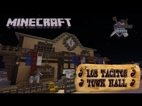 Western build - Los Tacitos Town Hall - Minecraft - Miners of the Nexus