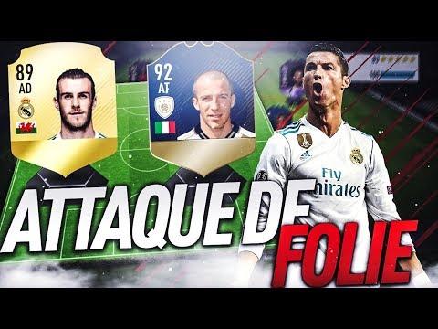 FIFA 18 - PACK OPENING + FUT CHAMPION ! ATTAQUE DE FOLIE AVEC CR7, BALE ET DEL PIERO 92 !
