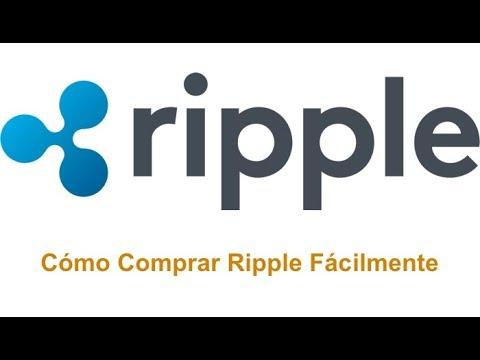 Cómo comprar XRP (Ripple)