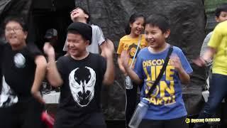 Latihan dasar kepemimpinan SD Santa Angela 2018 - 2019   Outbound Bandung