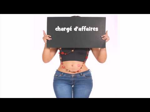 French pronunciation # chargé d'affaires