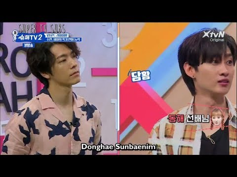 [Super Tv 2  Ep5 Eng Sub] Donghae   The Only Foreigner in Suju