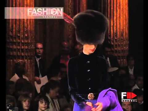 """Yves Saint Laurent"" Autumn Winter 2001 2002 2 of 8 haute couture by FashionChannel"