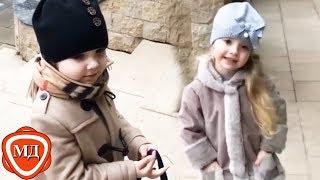 ДЕТИ ПУГАЧЕВОЙ И ГАЛКИНА: Лиза и Гарри съездили в гости!