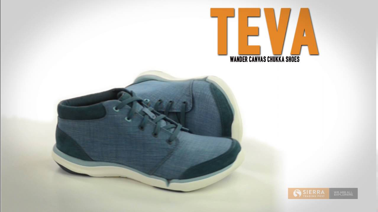 43a735138 Teva Wander Canvas Chukka Shoes (For Women) - YouTube