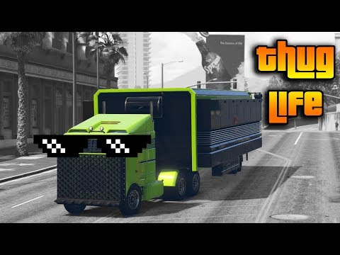 GTA 5 ONLINE : THUG LIFE AND FUNNY MOMENTS (WINS, STUNTS AND FAILS #7)