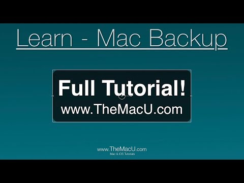 Mac Backup Tutorial - Time Machine, Bootable Backups And Offsite Backups With BackBlaze
