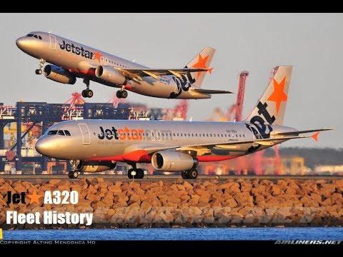 Jet★ Airbus A320-200 Fleet History (2004-Present)