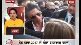 Super 50: Shah Rukh Khan delivers first ever TED Talk in Vancouver