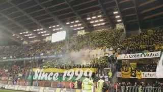 Stade Rennais - FCN (21/03/15) - Ultras Nantes on tour
