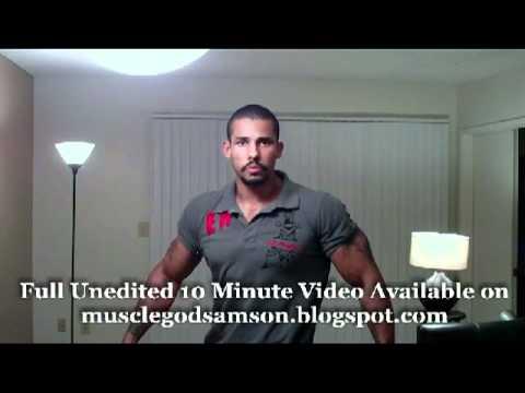 Muscle Flex Fashion: Tight Fit Volume 1 Bodybuilder Samson Dark