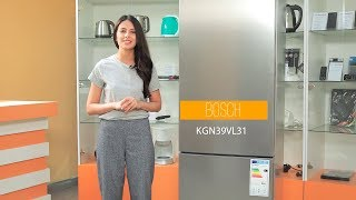 BOSCH KGN39VL31 - Обзор Двухкамерного Холодильника | Palladium.ua
