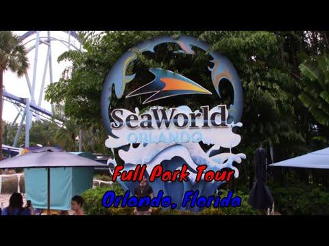 Seaworld Orlando Full Tour - Orlando, Florida