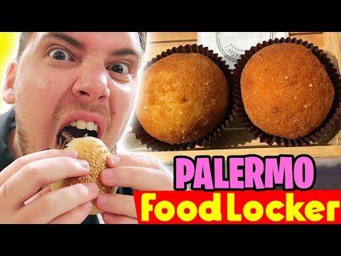 MIKE vs CIBO SICILIANO - SPECIALE: PALERMO (Pane ca Meusa, Panelle, Arancine) - FOOD LOCKER #12
