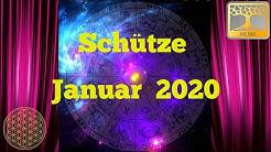 Sternzeichen Schütze Januar 2020 / Dein Monatsorakel / Horoskop Januar Astrologie