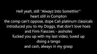 Dr. Dre ft. Hittman - Light speed (lyrics) Resimi