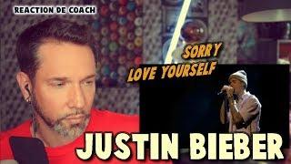JUSTIN BIEBER - SORRY / LOVE YOURSELF  // REACTION DE COACH